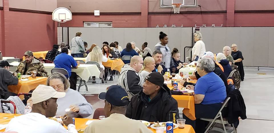 2018 Thanksgiving Dinner Switzer Center